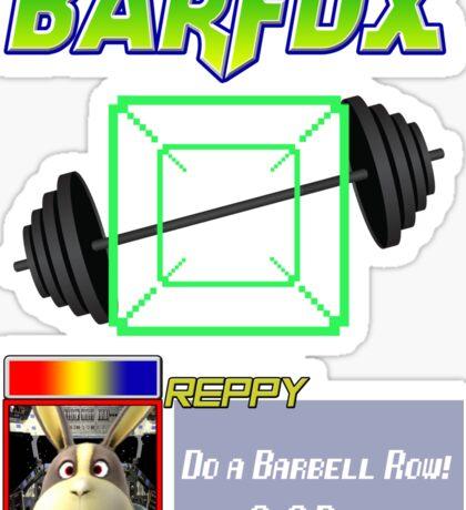 Barfox Sticker