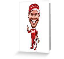 Sebastian Vettel 2016 Greeting Card