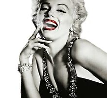 Marilyn Monroe Smoking by anthonyv77