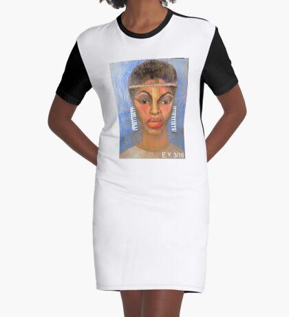 BREEZE DRIFTING BY FEELING GOOD Graphic T-Shirt Dress