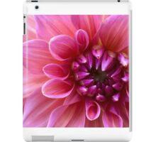 Pink Dahlia  iPad Case/Skin