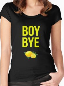 BOY BYE Beyonce  Women's Fitted Scoop T-Shirt