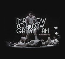 Muhammad Ali Quote - I will show you how great I am  T-Shirt