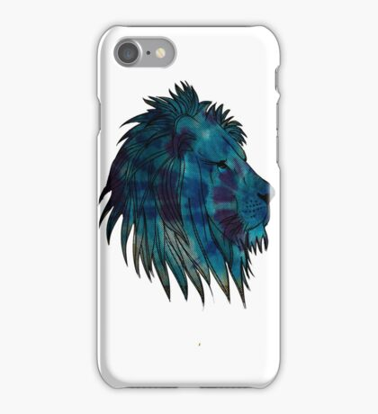 Lion Dot Graphic iPhone Case/Skin