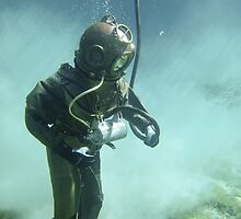 Diver into Deep by Iskanders