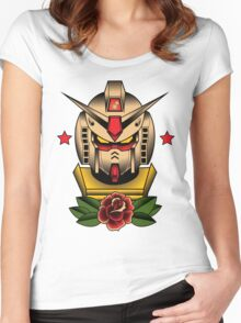 RX-78-2 Tattoo Women's Fitted Scoop T-Shirt