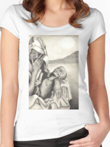 starving Women's Fitted Scoop T-Shirt