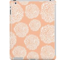 Peachy Flowers iPad Case/Skin