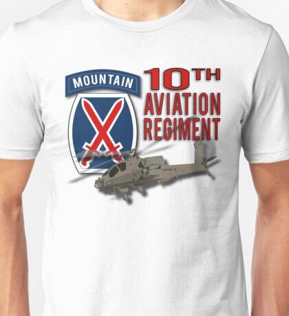 10th Aviation Regiment Apache Unisex T-Shirt