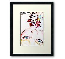 Femme cigar Framed Print