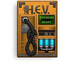 HEV Charger Canvas Print