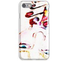 Femme cigar iPhone Case/Skin