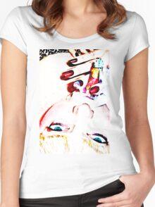 Femme cigar Women's Fitted Scoop T-Shirt