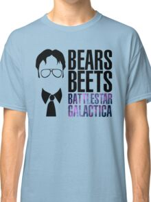 Dwight Schrute Bears, Beets, and Battlestar Galactica Classic T-Shirt