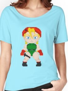 Street Fighter Pixel Cuties - Cammy White Women's Relaxed Fit T-Shirt