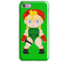 Street Fighter Pixel Cuties - Cammy White iPhone Case/Skin