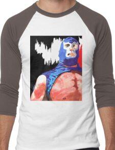 Blue Demon Jr.  Men's Baseball ¾ T-Shirt