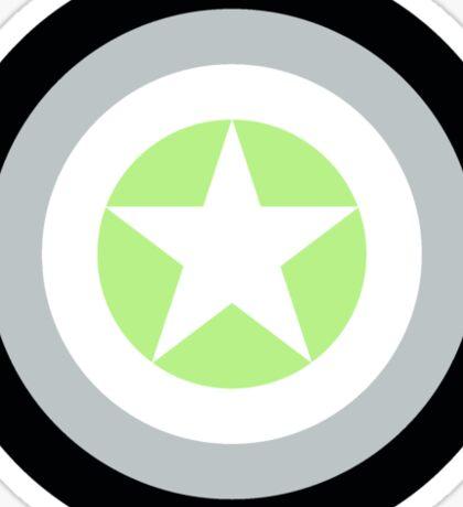 Pride Shields - Agender v1.2 Sticker