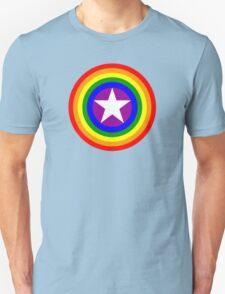 Pride Shields - Rainbow Unisex T-Shirt