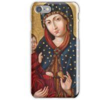 Polish Virgin Mary Poster, Madonna and Child Jesus, Holy icon, Catholic art iPhone Case/Skin
