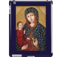 Polish Virgin Mary Poster, Madonna and Child Jesus, Holy icon, Catholic art iPad Case/Skin