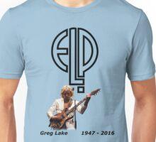 Greg Lake - Emerson Lake and Palmer Tribute Unisex T-Shirt