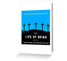 Life of brian | Cult tv Greeting Card
