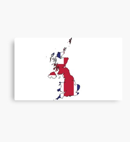 UK Flag Canvas Print