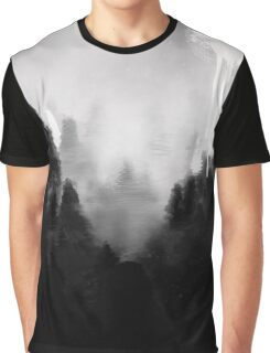 Crying Moon Graphic T-Shirt