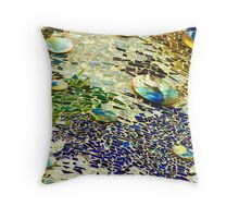 Colors of Gaudi Throw Pillow