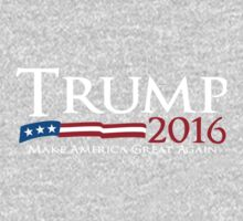 Trump 2016 make america great again One Piece - Short Sleeve
