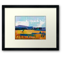 Field 960 Framed Print