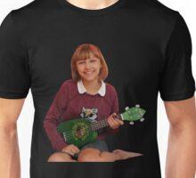 Grace Playing Ukelele Unisex T-Shirt
