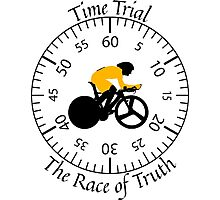 Time Trial - Race Against the Clock Photographic Print