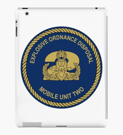 EOD Mobile Unit 2 iPad Case/Skin