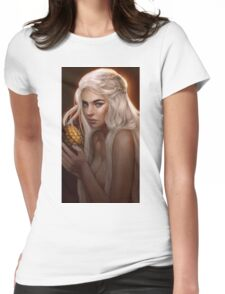 courtesan Womens Fitted T-Shirt