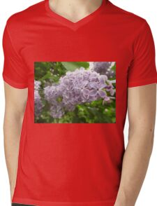 Lilac 2 Mens V-Neck T-Shirt