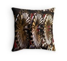 Radial Points Throw Pillow