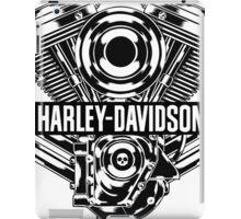 HARLEY DAVIDSON MOTOR ENGINE iPad Case/Skin