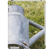 watering the lawn iPad Case/Skin