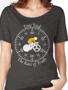 Time Trial - Race Against the Clock Women's Relaxed Fit T-Shirt