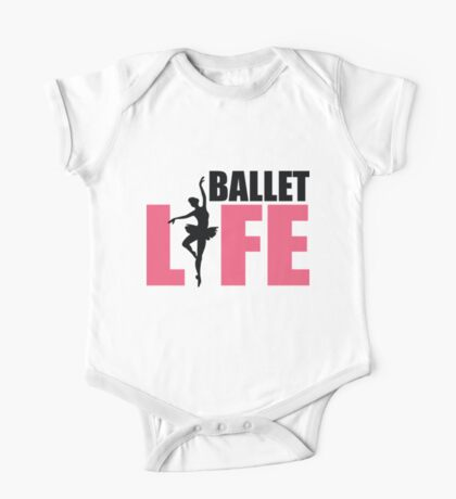 Ballet Life One Piece - Short Sleeve