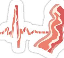 My Heart Beats For Bacon Sticker