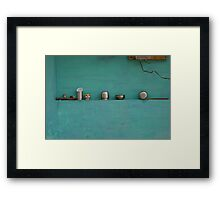 the beauty of everyday objects Framed Print