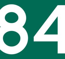 CA-84 - Redwood City Sticker