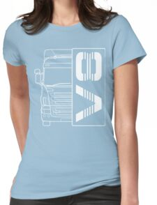 Trucker Scania Volvo Iveco DAF T-Shirt Womens Fitted T-Shirt