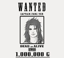 WANTED Captain Fang Yun by chiliface