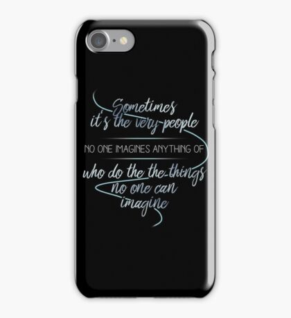 The Imitation Game iPhone Case/Skin
