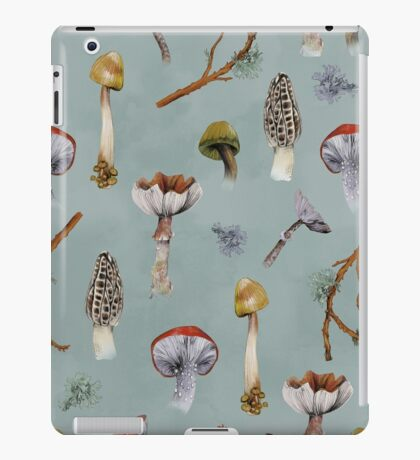 Mushroom Forest Collecting Party iPad Case/Skin