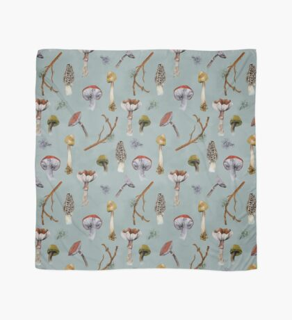 Mushroom Forest Collecting Party Scarf